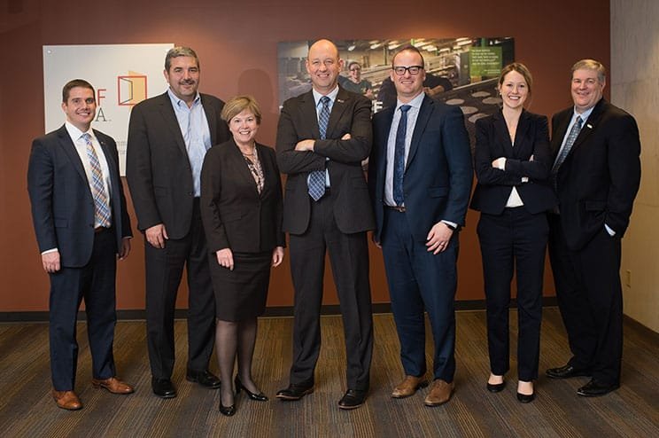 CRF and US Bank partnership including leadership from both organizations