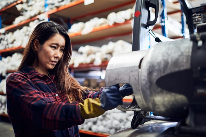 Woman in Manufacturing business