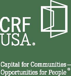 CRF White Logo