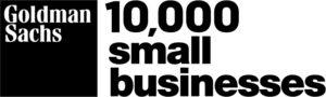 Goldman Sachs 10k small businesses logo